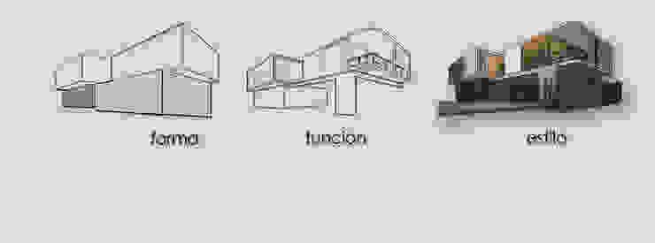 CASA FLH Casas minimalistas de lab arquitectura Minimalista