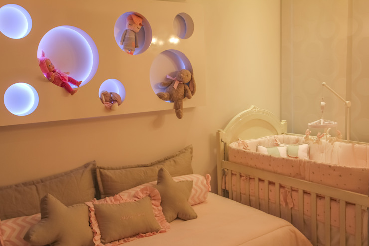 Kamar Bayi/Anak Modern Oleh Monica Saravia Modern