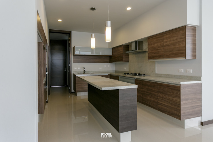 2M Arquitectura Cocinas de estilo moderno