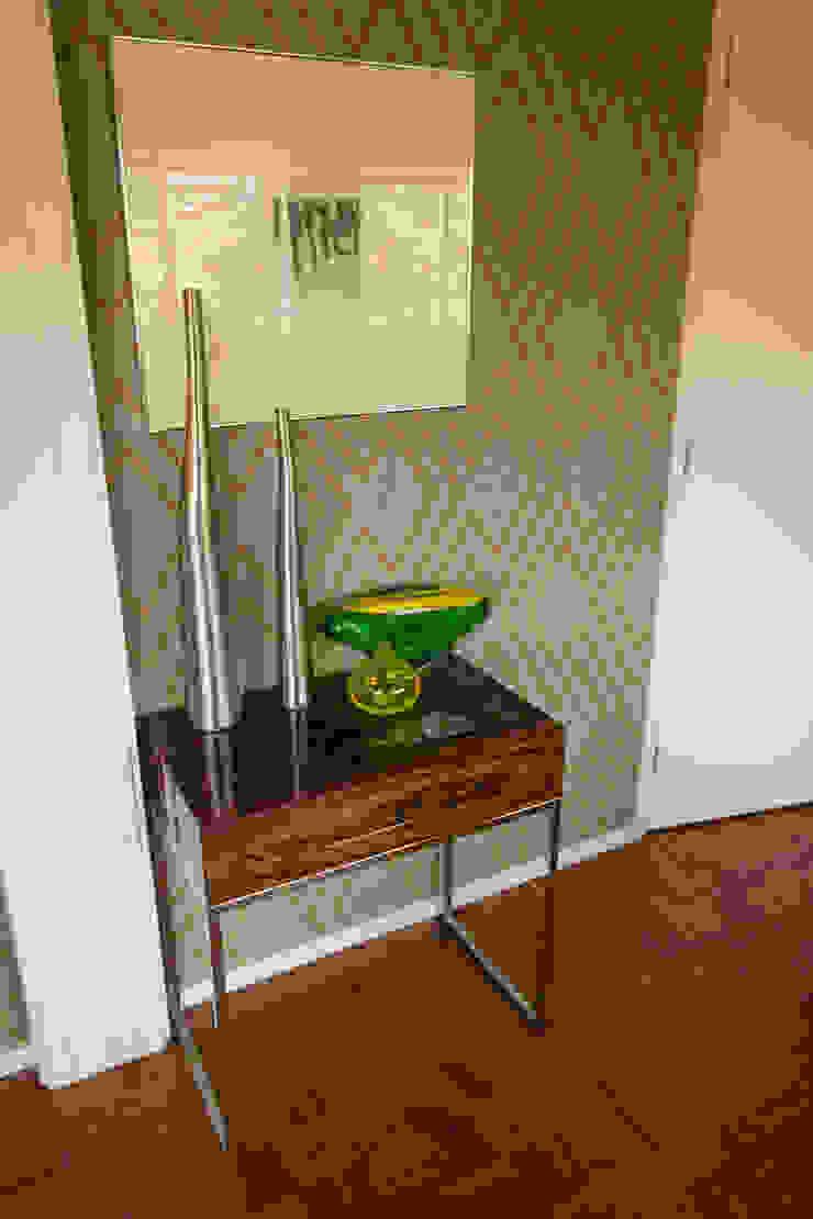 Apartamento Lisboa Salas de estar ecléticas por Atelier Ana Leonor Rocha Eclético