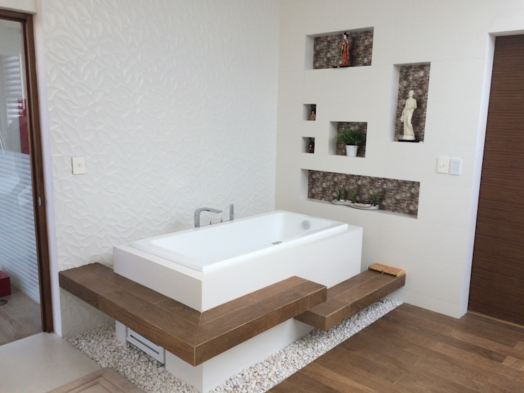 Modern bathroom by homify Modern Wood Wood effect