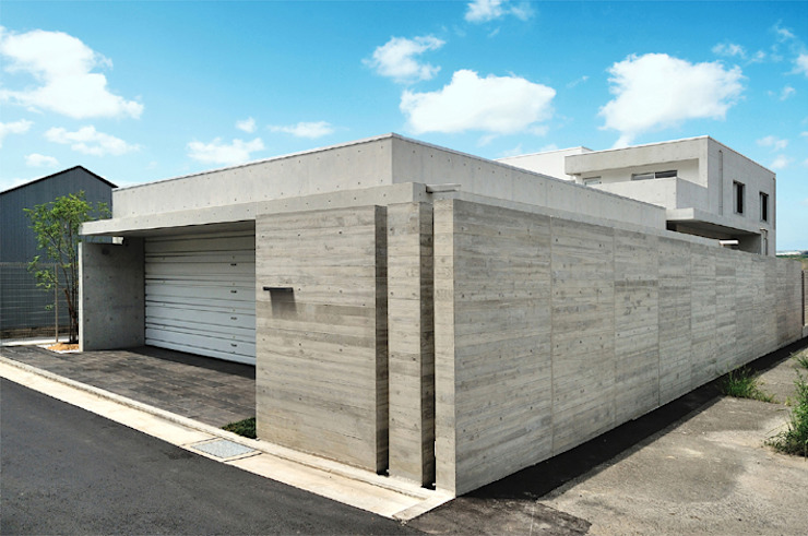 JPホーム株式会社 Modern houses Concrete Grey
