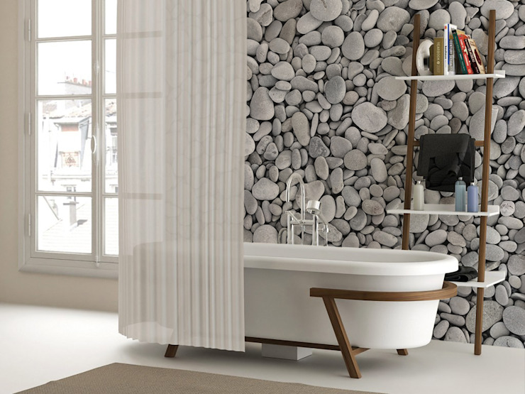 Pebbles Modern Bathroom by Pixers Modern