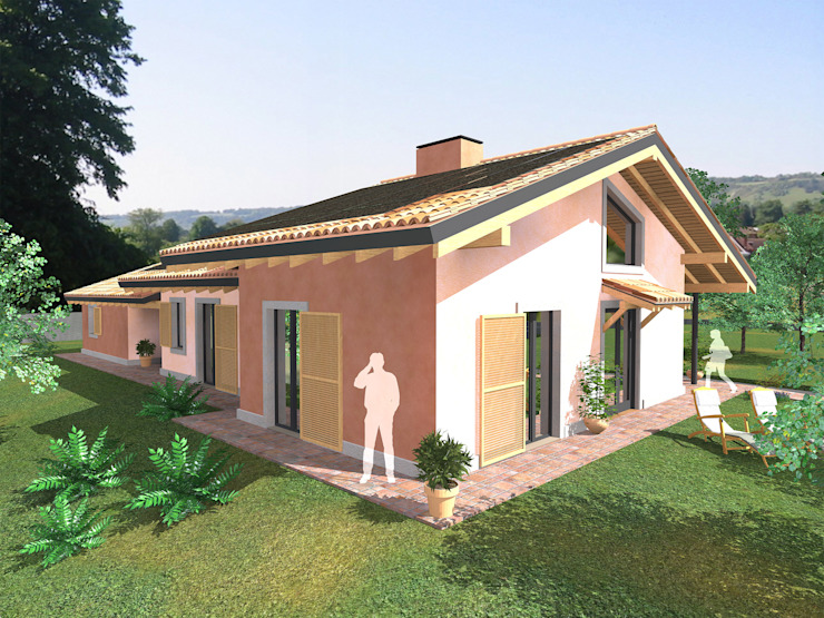 Classic style houses by DBIOSTUDIO Classic
