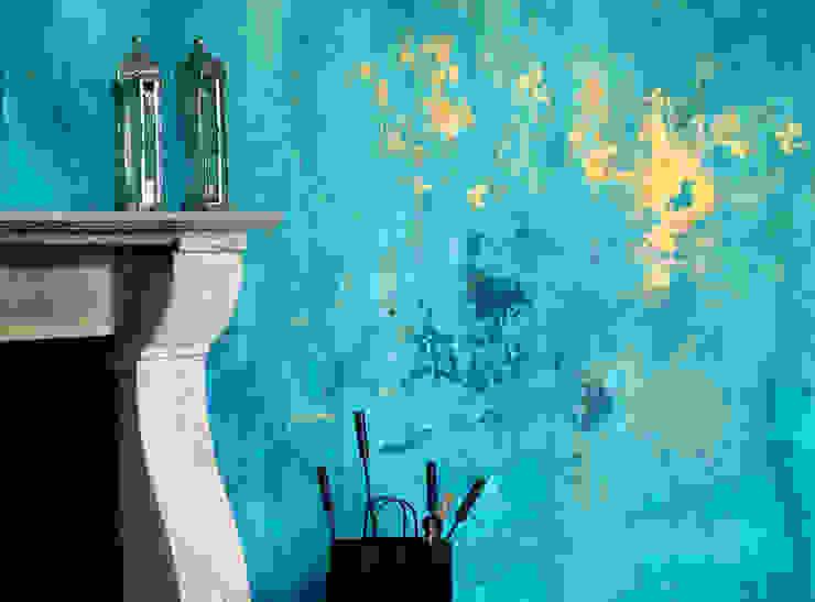 Festina Lente Giovanni Antico Soggiorno in stile mediterraneo Blu