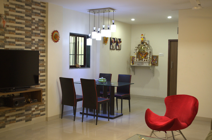 Residential Modern dining room by Olive Roof Modern