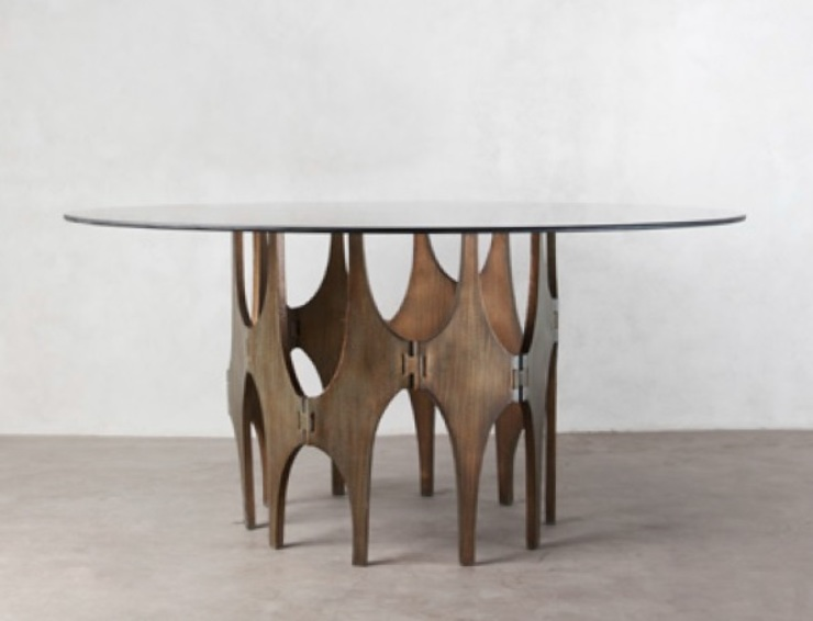 peças de mobiliário por Nuance Home Design Eclético