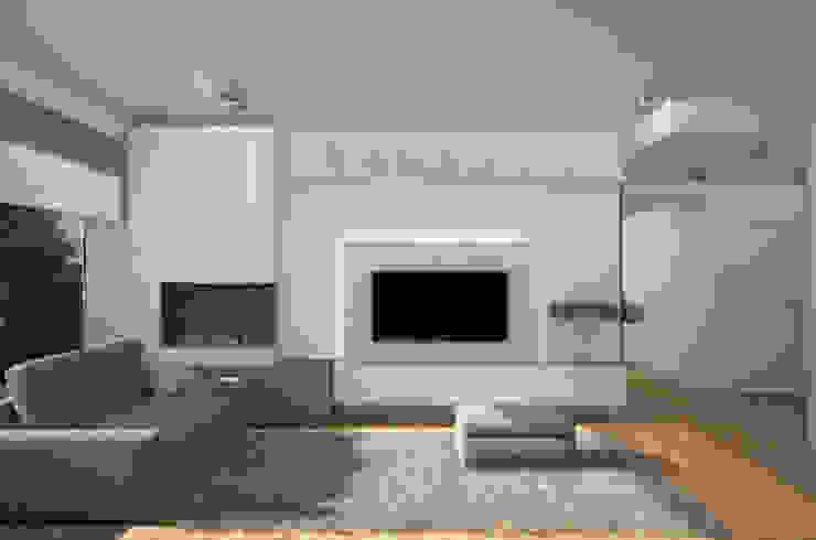Silvana Barbato Modern Living Room White