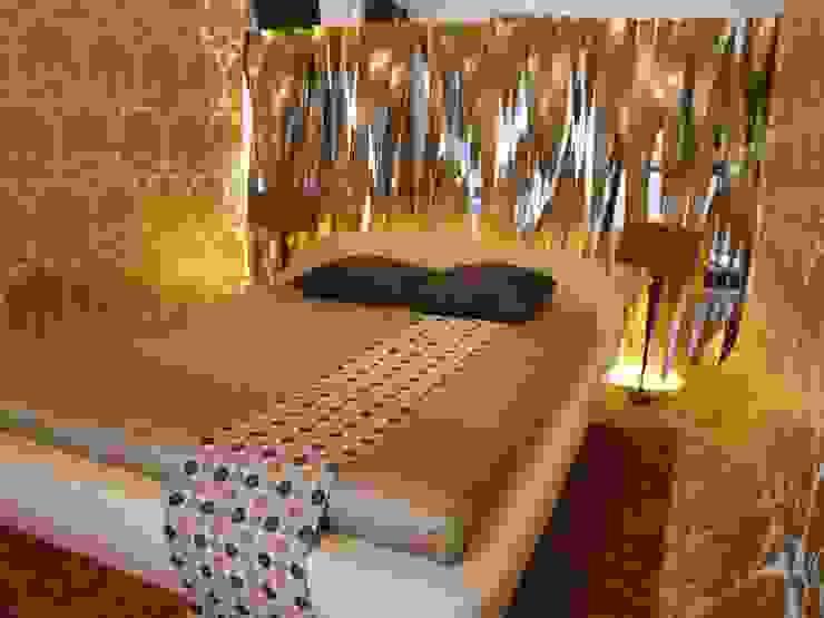 CASA DECOR 2006 .Faro Quartos ecléticos por Atelier Ana Leonor Rocha Eclético