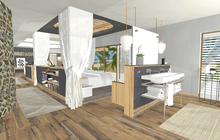 Presidentail suite design by Kirsty Badenhorst Interiors Modern