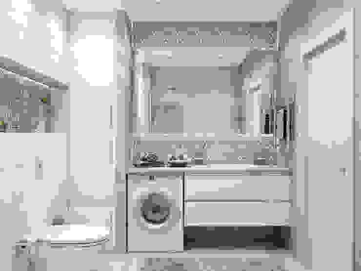 Baños minimalistas de MAGENTLE Minimalista Azulejos