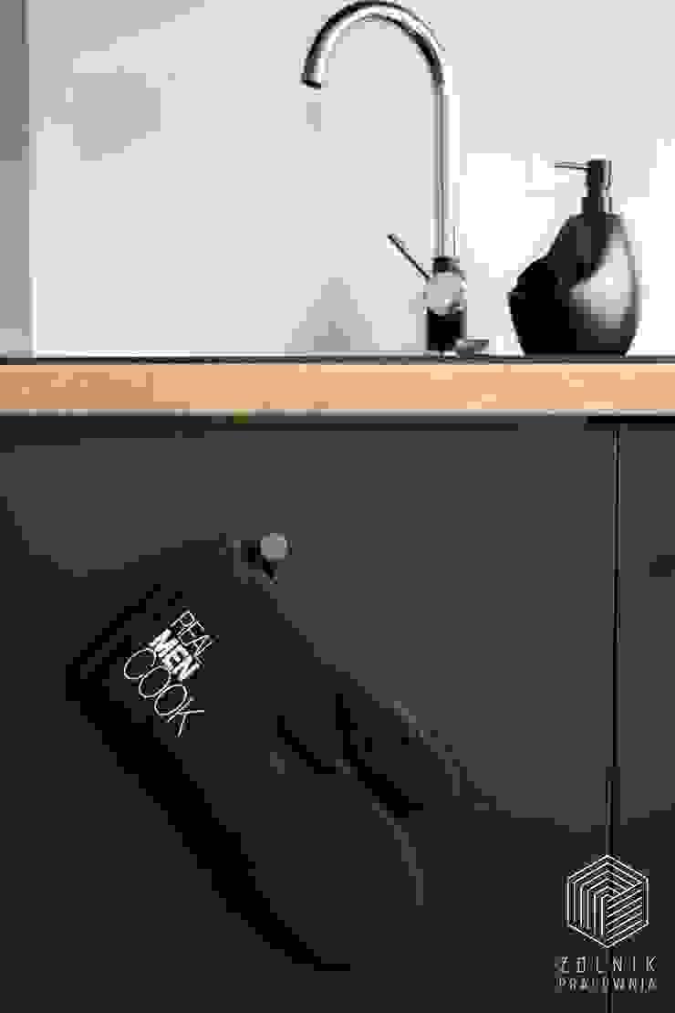 Zolnik Pracownia Cucina minimalista Nero