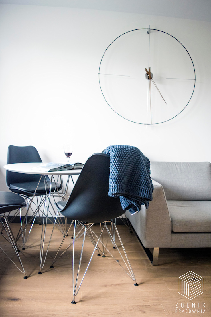 Zolnik Pracownia Soggiorno minimalista