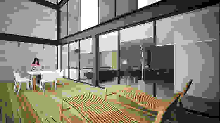 Providencia Balcones y terrazas modernos de Sulkin Askenazi Moderno