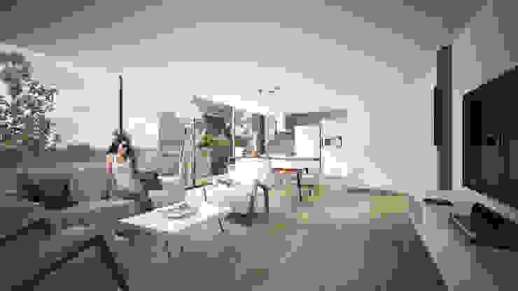 Providencia Salones modernos de Sulkin Askenazi Moderno