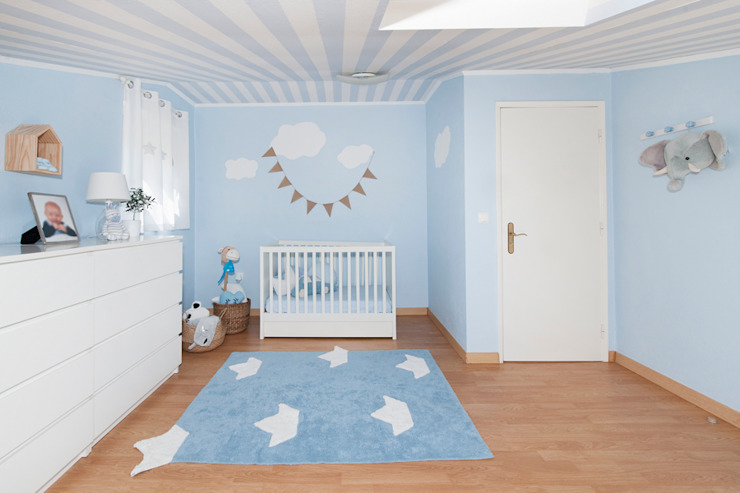 Scandinavian style nursery/kids room by This Little Room Scandinavian