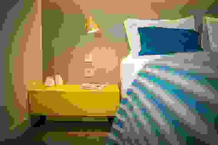 Parede em Microcimento Hotéis modernos por 4Udecor Microcimento Moderno