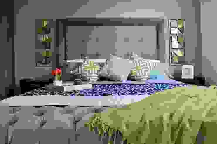 Casa Giralda de Dovela Interiorismo Moderno Textil Ámbar/Dorado