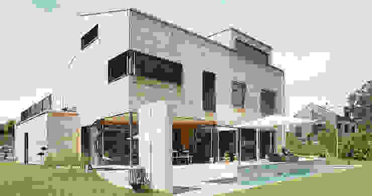 Nowoczesny balkon, taras i weranda od Unica Architektur AG Nowoczesny