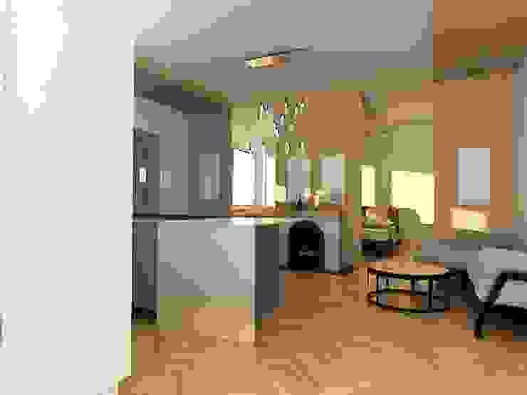 Dstudio.M Living room Wood White