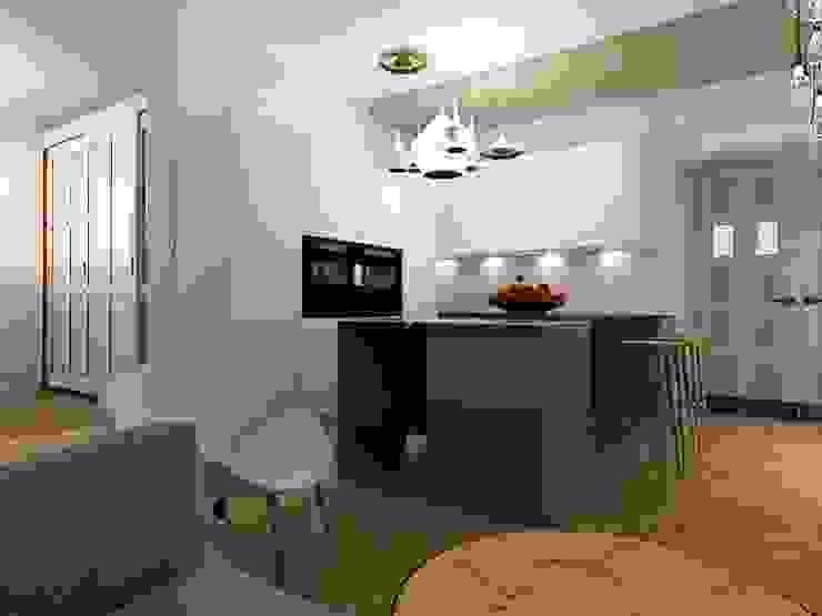 Dstudio.M Kitchen Metal Grey