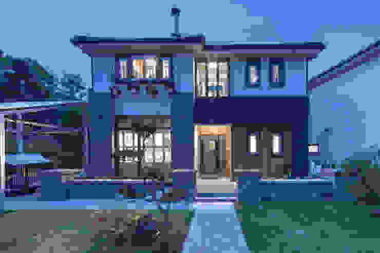이웃과 함께하는 전원생활 (용인 고기동) 아시아스타일 주택 by 윤성하우징 한옥