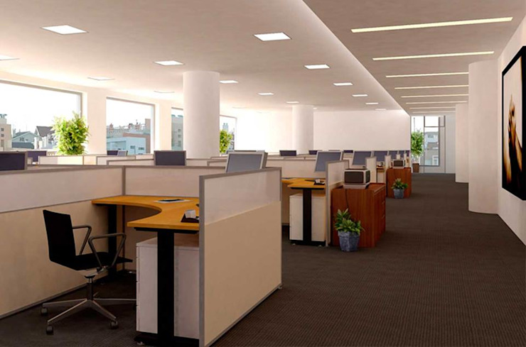 Private Bank Department: modern  by Asia Interiors ,Modern