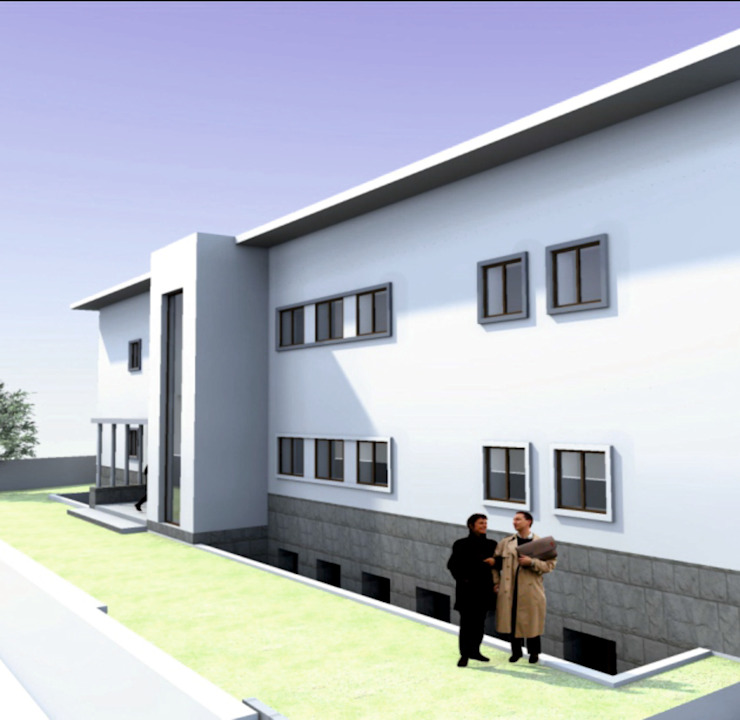 Habitação Religiosa Casas modernas por Zaida Amorim & Maria Luis, Lda Moderno