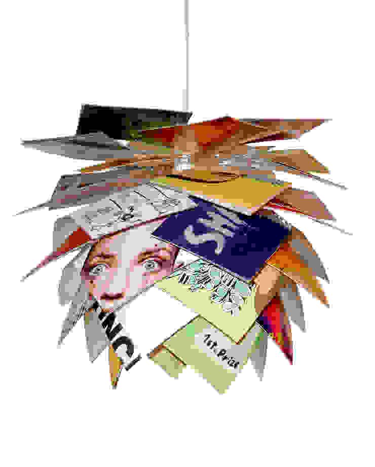 Magazine Pendant Light by Dyberg Larsen par Little Mill House Éclectique