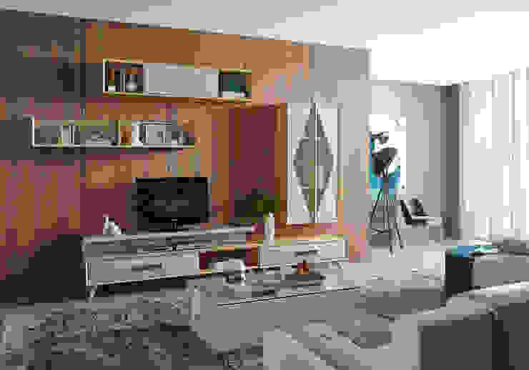 Mobiliário de sala de estar Living room furniture por Intense mobiliário e interiores; Moderno