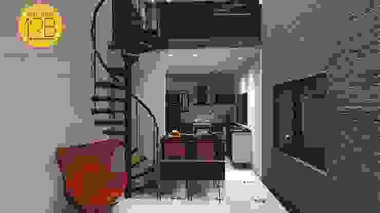 Moderne Wohnzimmer von Estúdio 12b Modern