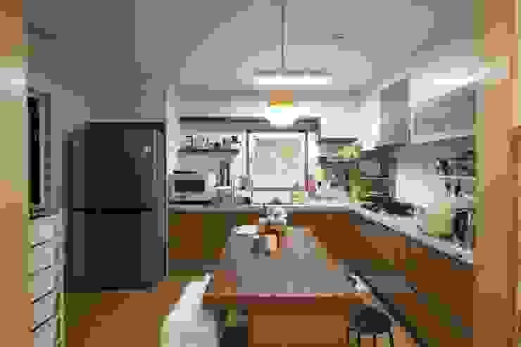 도곡리 주택 Modern kitchen by 위드하임 Modern