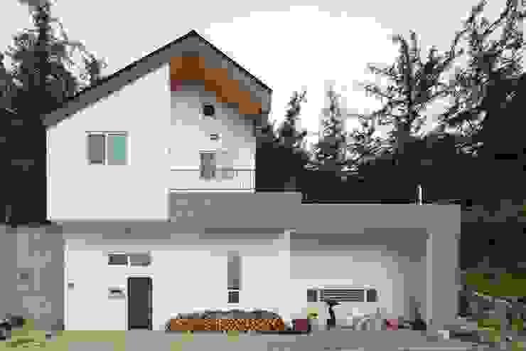 도곡리 주택 Modern houses by 위드하임 Modern