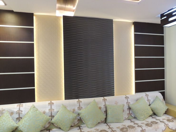 Residential Interior: asian  by Vastu Architects,Asian