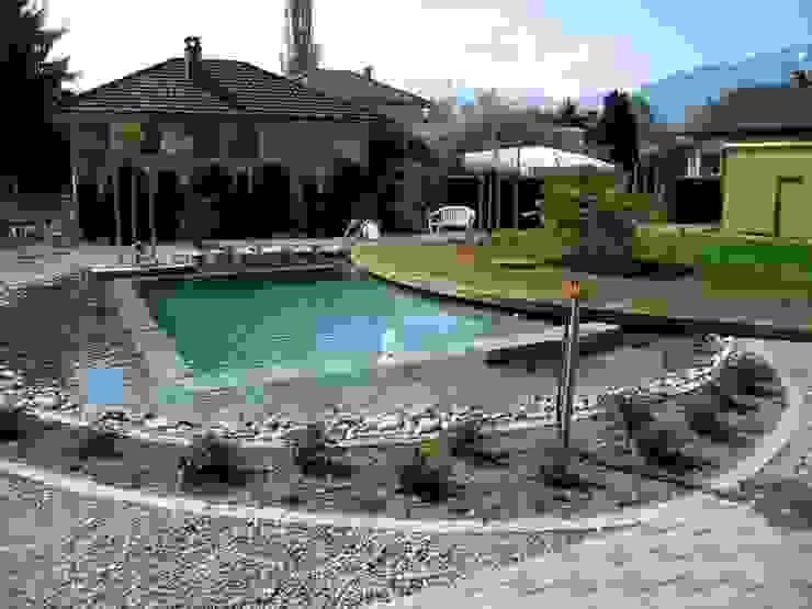 Örnek Projeler Bio Göl Havuz (Biyolojik Gölet ve Havuz Yapısalları) Kırsal Havuz