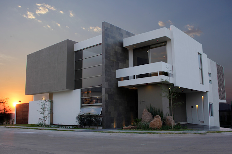 Modern houses by 2M Arquitectura Modern
