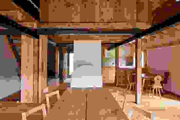 ALDENA Phòng ăn phong cách mộc mạc Gỗ Wood effect