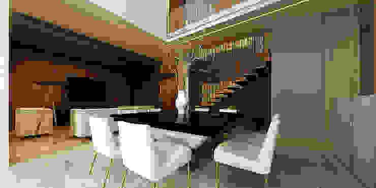現代房屋設計點子、靈感 & 圖片 根據 Besana Studio 現代風