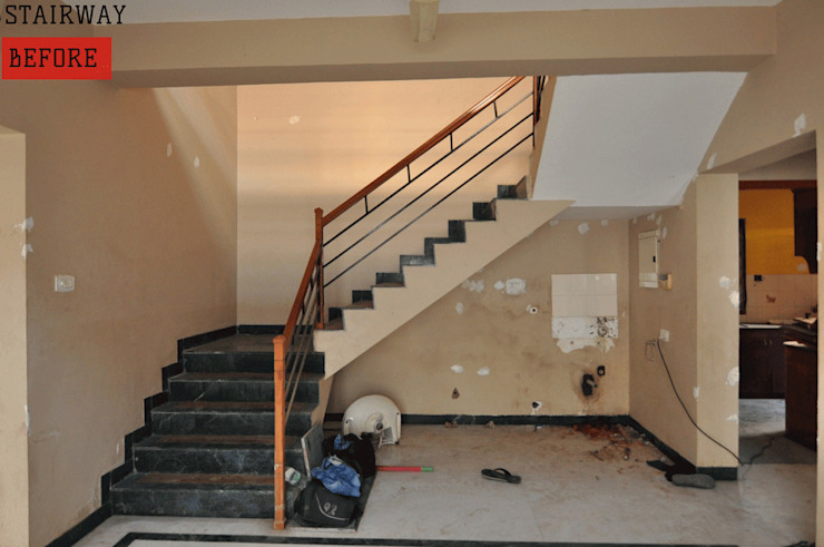 Before Picture of the Stairway area by Aegam
