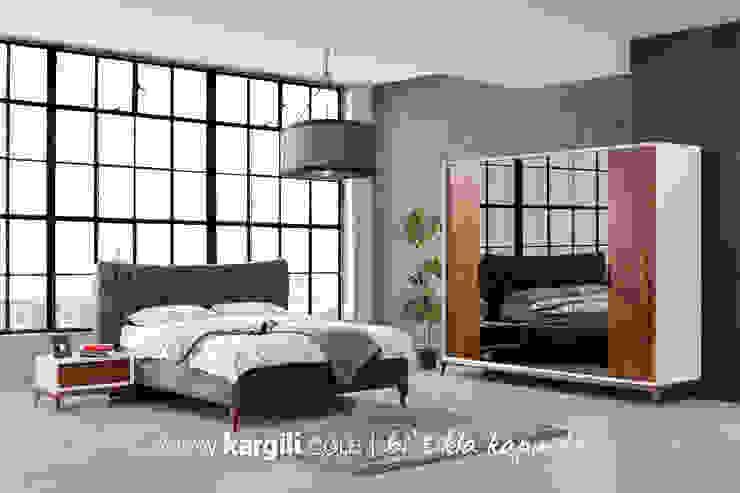 Kargılı Ev Mobilyaları – Efes Modern Yatak Odası Takımı: modern tarz , Modern