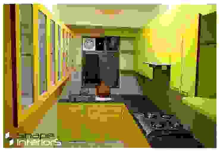 L shape Kitchen Shape Interiors Modern style kitchen