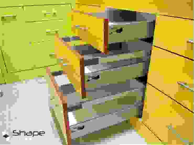 Kitchen drawers Shape Interiors Nursery/kid's room