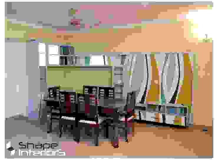 Dinning Area Modern living room by Shape Interiors Modern
