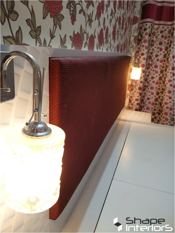 bedside lamps Shape Interiors Modern style bedroom