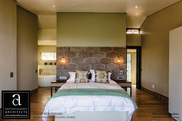 Bedroom by Coetzee Alberts Architects, Modern