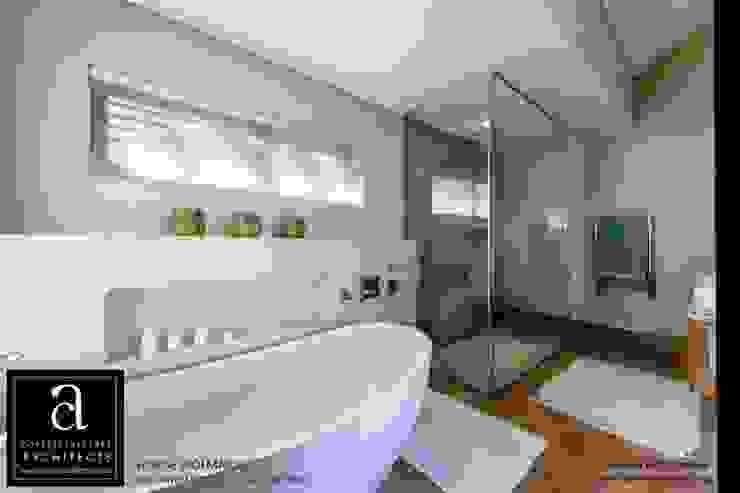 House Wolmarans Modern bathroom by Coetzee Alberts Architects Modern