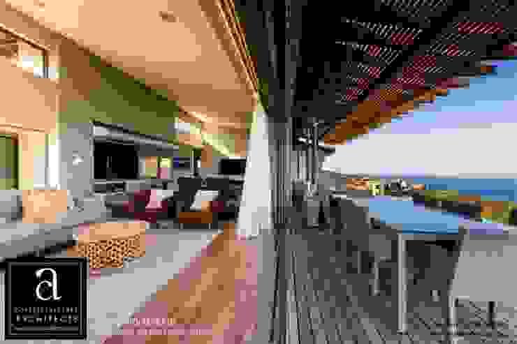 Coetzee Alberts Architects Balcones y terrazas de estilo moderno