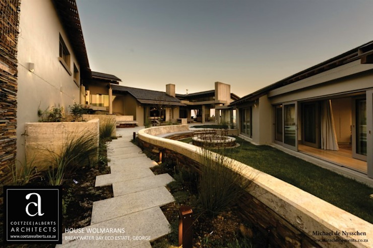 House Wolmarans Modern houses by Coetzee Alberts Architects Modern