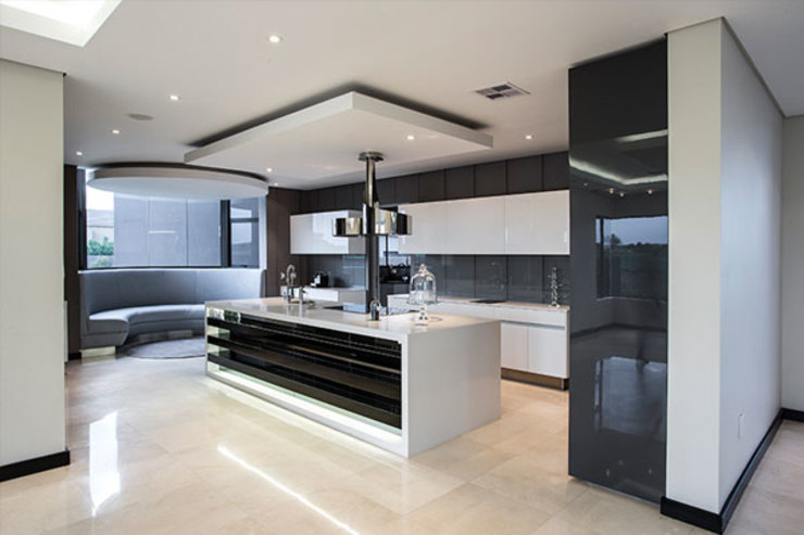 Residence Calaca FRANCOIS MARAIS ARCHITECTS Modern kitchen