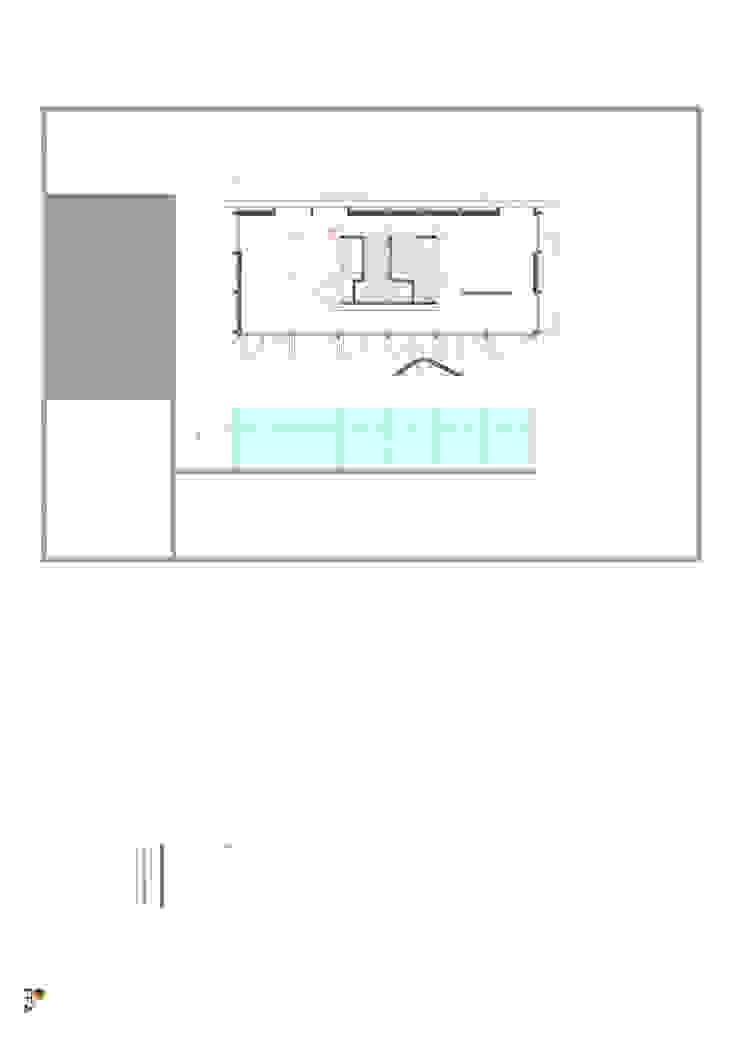 PT - Planta Rés do Chão EN - Swimming Ground floor Plan Casas modernas por Office of Feeling Architecture, Lda Moderno